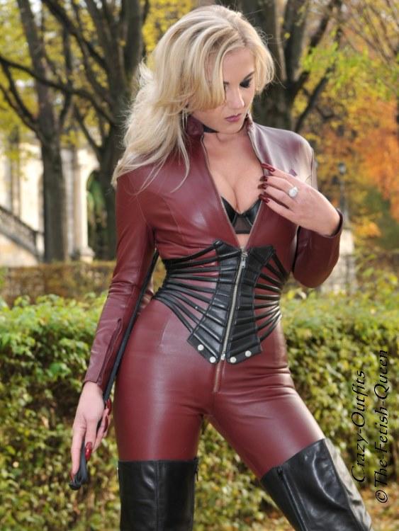 Leder Ledercatsuit Anzug Catsuit Overall 4-019K Schwarz Maßanfertigung