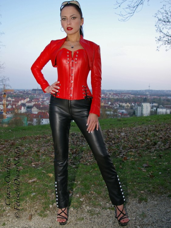 XXXL Lederbolero Leder Bolero Jacke Schwarz Kragenlos Größe 32-58 XS